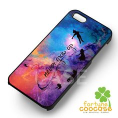 Disney peter pan never grow up silhouette nebula -srwe for iPhone 6S case…