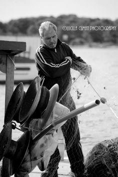 Fisherman. Porto Cesareo. Puglia