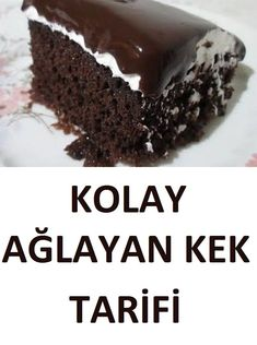 Ağlayan Kek Tarifi If you want to learn how to make a crying cake and how to make it in 5 minutes, w Delicious Cake Recipes, Best Cake Recipes, Yummy Cakes, Yummy Food, Tolle Desserts, Moist Carrot Cakes, First Birthday Cakes, Great Desserts, Chocolate Brownies