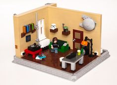 The Gamer (Series 12) - mini MOCs I made with characters from the LEGO minifigures Series