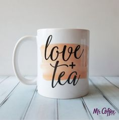 All you need is love...& tea. #MrCoffee
