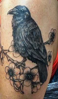 Raven By Tommy Sturgis, TRU Tattoo, Dallas,TX