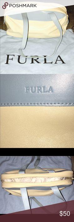 Furla Vintage shoulder Bag In excellent condition and a vintage piece. Furla Bags Shoulder Bags