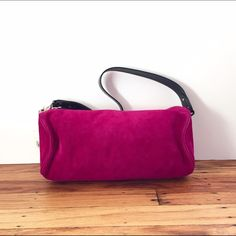 NWT Kate Spade Medium Tootsie Strasbourg Fuschia Brand new never used Kate Spade Medium Tootsie handbag in Suede Strasbourg Fuschia. This bag is a beautiful shade of fuschia that will as pop to your fall and winter outfits. I bought it at Bloomingdales but never used it. kate spade Bags Satchels