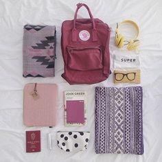 My handbag travel essentials