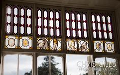 Nonsuch Mansion stained glass windows