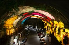 Dazzling light installations turn Sydney, Australia into a canvas of light, music and ideas