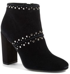 2094ebf40a166 Studded booties that will become your go-to shoes for casual days and