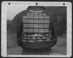vintage everyday: Bomber Jacket Art – See U.S. Air Force Pilots Personalized Nose Art on Their A-2 Flight Jackets During WWII