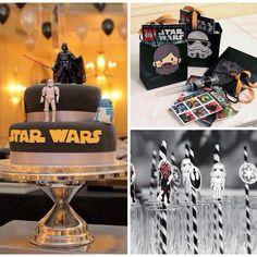 #star #wars #party #festa #decoração #mesa #tema #starwars