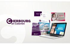 Création de la marque Cherbourg en Cotentin