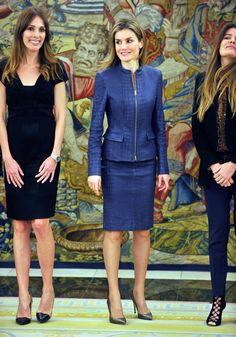 HRH Crown Princess Letizia of Spain 3/14/2014
