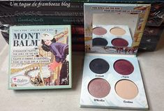 the Balm Cosmetics, Mont Balm Eyeshadow Palette—for girls on the run .. eyes, eye makeup / pinterest:  katepisors