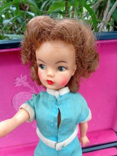 1960 Tammy Doll Ideal Toy company bs 12 with by JeansVintageCloset