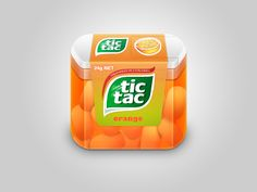 One of the best things out there. tic tac could use this for ads or new ideas. i llike how each of the tic tac have a shadow. it really looks like something i would go out and buy. and the white at the top looks really nice also.
