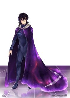 """maniacani:  """"""""Keith from Voltron: Legendary Defender (feat. a self-ingulgent au)  """"  So @ladyspiderqueen and i were talking about what Keith would look like if his mom was royalty making him a prince and legitimate heir to the galra empire?, then this..."""