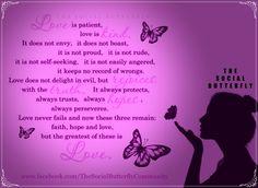 The Social Butterfly www.facebook.com/TheSocialButterflyCommunity
