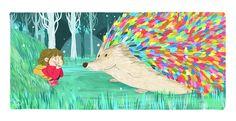 Portfolio of Srta.M, illustrator Inspiration For Kids, Moose Art, Children, Illustration, Painting, Animals, Woods, Projects, Animales