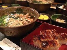 Soba & Sushi. #Food #Japan
