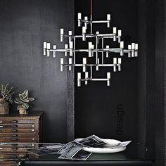 #clariteilumina #lustrelindo #lustremoderno #lustredesign #pendentecromado #ilum..., #clariteilumina #ilum #iluminacaodecorativa #lustre #lustredesign #lustrelindo #lustremoderno #pendentecromado,clariteilumina ,lustrelindo ,lustremoderno ,lustredesign ,pendentecromado ,iluminacaodecorativa... Home Design, Hallway Colours, Hallway Lighting, Works With Alexa, Rug Runner, Chandelier, Contemporary, Furniture, Pendant