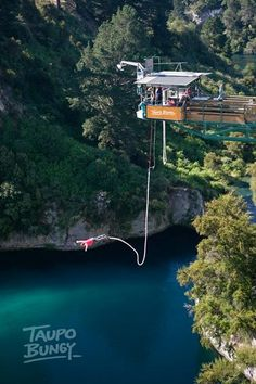 Had an absolute blast doing this!!!! NZ's highest water touch bungy (Taupo)