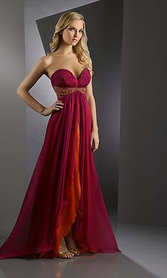 Elegant Fuchsia Color Prom Dress by Shimmer 59912 at SimplyDresses.com  99.00 and I kind of like it!