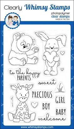 Baby Animals – Whimsy Stamps