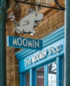 Whole shop dedicated to Moomins :D If I ever find this shop, I will be so happy