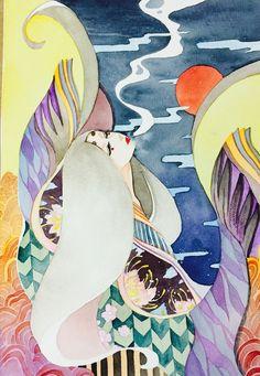 heian girl by KinokoTanoshii on DeviantArt. A woman dressed in junihitoe. Heian Era, Heian Period, Japanese Goddess, Hanfu, Cool Art, Disney Characters, Fictional Characters, Religion, Illustration Art