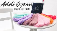 My Bon-Fire Beanie is my most requested tutorial to date. For this tutorial I will be using my Addi Express - King. This Addi Express Beanie tutorial will. Addi Knitting Machine, Circular Knitting Machine, Knitting Machine Patterns, Loom Knitting, Crochet Patterns, Addi Express, Different Crochet Stitches, Yarn Inspiration, Beanie Pattern