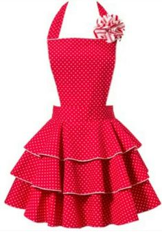 I think I am in love with an apron.  Yes.
