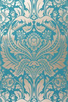 Idées déco : du papier-peint baroque et glamour - La déco Turbulente