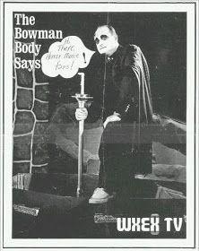 The Bowman Body, Richmond VA - WXEX-TV, channel 8. Shock Theatre!!!!  Tumblr Image