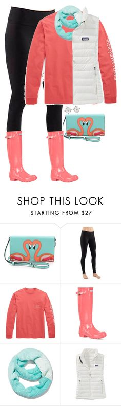 """""""Something I'd wear."""" by meljordrum ❤ liked on Polyvore featuring Kate Spade, lululemon, Vineyard Vines, Hunter, New York & Company, Patagonia and Carolee"""