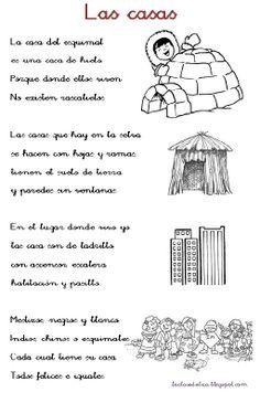 La clase de Sandra : Poesia sobre la casa