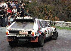 Henri Toivonen - Sergio Cresto  30º Rally Tour de Corse. Lancia Delta S4. El 02-05-1986 cuando iban líderes de la prueba con más de un minuto de ventaja sobre Bruno Saby - Jean François Fauchille,(Peugeot 205 Turbo 16 E2),sufrieron accidente mortal,(D.E.P.).