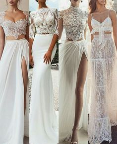 Wedding Dresses - New ideas Stunning Wedding Dresses, Dream Wedding Dresses, Bridal Dresses, Wedding Gowns, Bridesmaid Dresses, Prom Dresses, White Lace Wedding Dress, Pretty Dresses, Beautiful Dresses