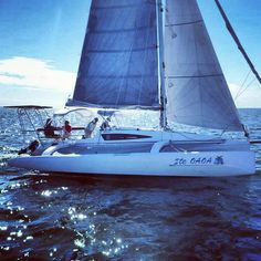 The Cruze 970 being reviewed on the Chesapeake Bay by Cruising World and Sailing World. The results for Boat of the year 2014 are to be announced in January. sail.corsairmarine.com #corsair #corsairmarine #sail #sailing #catamarans #cats #trimarans #tris #ocean #nautical