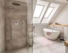 Why You Should Design Your Next Bathroom with a Rain Shower – Infinity Drain