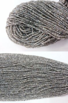 Other Loose Beads 179275: 5 Strand Mystic Labradorite Rondelle Faceted Gemstone Loose Beads 3-4Mm 13Inch BUY IT NOW ONLY: $49.99