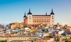 Fort over … the Alcázar of Toledo dominates the city. The fortress was the scene of a lengthy siege during the Spanish civil war.