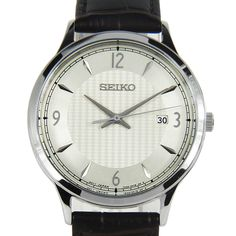Chronograph, Seiko Watches, Automatic Watch, Stainless Steel Case, Watches For Men, Quartz, Ebay, Best Deals, Classic