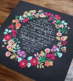 Wildflower Tangle Georgia Art Print by Karla Pruitt on Scoutmob Shoppe