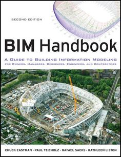 BIM BOOKS - Book Cover Image for BIM Handbook: A Guide to Building Information Modeling for Owners, Managers, Designers, Engineers and Contractors, 2nd Edition