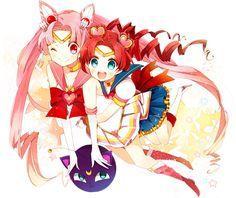 Tags: Fanart, Bishoujo Senshi Sailor Moon, Chibiusa, Sailor Chibi Moon, Chibi Chibi, Luna P, Pixiv, Sailor Chibi Chibi Moon, Fanart From Pix...