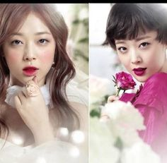 Etude House reveals 'And Rose' collection preview featuring f(x)'s Sulli   allkpop.com