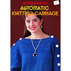 Brother Pattern Book for Automatic Knitting Carriage - Brother-KnitKing