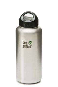 Klean Kanteen Wide Mouth Bottle with Stainless Loop Cap 27-Ounce(Brushed Stainless) Klean Kanteen http://www.amazon.ca/dp/B0093IS0GQ/ref=cm_sw_r_pi_dp_pFaovb1N90M2E