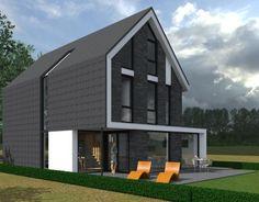 Een ontwerp voor een eigentijdse woning in Almere. De woning is momenteel nog in ontwikkeling. …