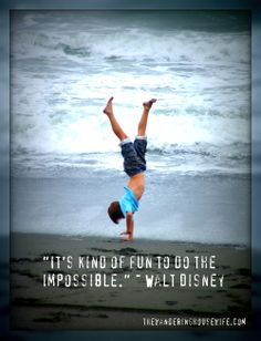 "WALT DISNEY QUOTE:: ""It's kind of fun to..."" [Gold Bluffs Beach, California] 
